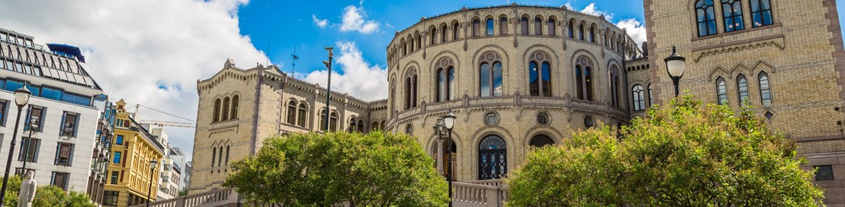 Stortinget. Foto: Colourbox