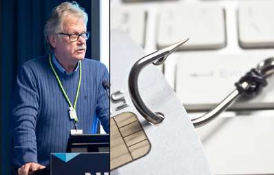 Harald Stavn i NITO IKT advarer mot phishing (Foto: Getty Images/NITO)